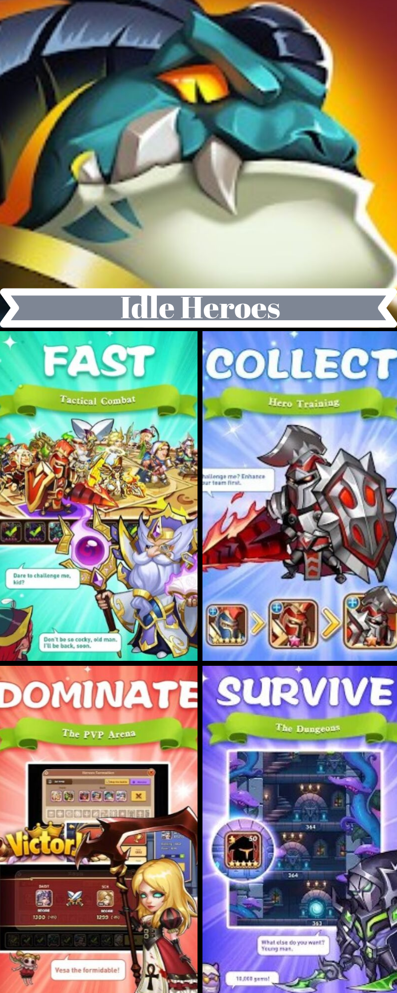 Idle Heroes Mod Apk Download for Android/Phone/Tablet [2019]