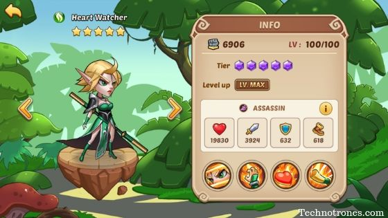 Idle heroes best heroes list