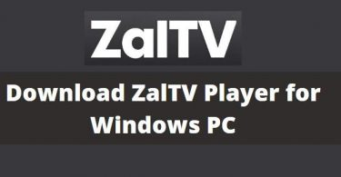 Download ZalTV IPTV Player for PC